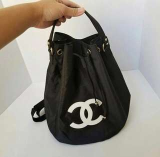 Chanel authentic backpack / bucket ransel vip gift