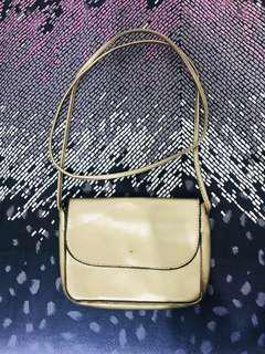Bronze sling bag