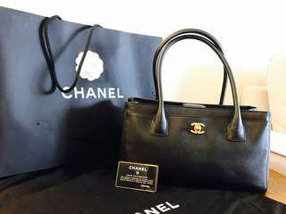 (Fast Deal) Chanel Cerf Executive Tote Bag