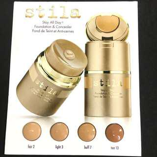 🚚 試色卡☀️Stila 霧面粉底液 stay all day foundation 美國製