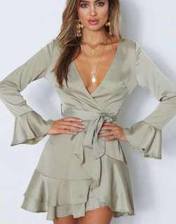 RENTING silk dress