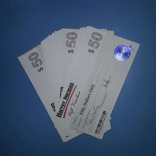 WTS Harvey Norman vouchers