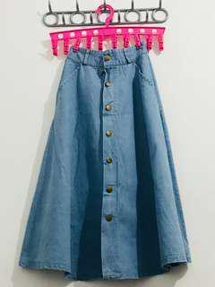 Long maong skirt