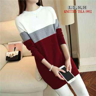Korean knitted Dress