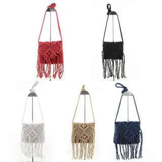 PREORDER - crochet mini sling bag