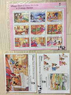Disney's stamp-The Princesses and the Pea迪士尼郵票-豌豆公主