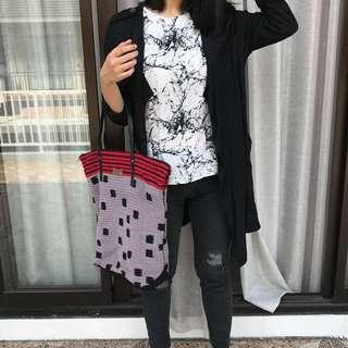 dowa dots bag | rottan bag summer