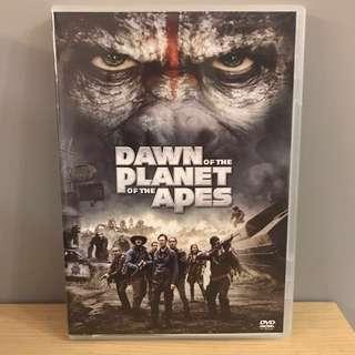 原裝正版DVD: 人猿爭霸戰·猩凶崛起 Dawn Of The Planet Of The Apes
