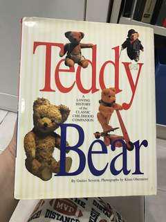 Teddy Bear Collectible Book. Hardcover.
