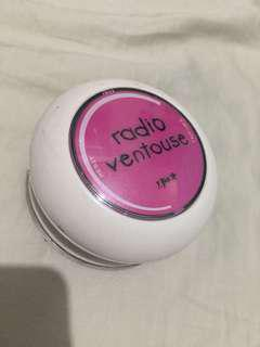 Portable Radio ventouse
