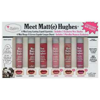 Authentic The Balm Meet Matt(e) Hughes