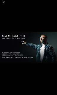 Hot Fast selling Sam Smith tickets for Sale