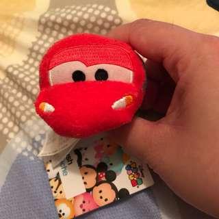 香港迪士尼樂園Pixar 反斗車王 麥昆 Tsum Tsum Hong Kong Disneyland Cars McQueen Tsum Tsum