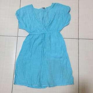 Coco Cabaña Blue Dress / cover up