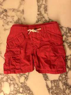 Baby Gap Red Shorts 3-6mos
