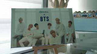 OFFICIAL BTS Mediheal postcards