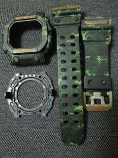 CHEAP $88!!!! CAMOUFLAGE FOR YOUR CASIO G SHOCK KING GX 56BB STRAP & BREZEL AND UNDIES @!!@