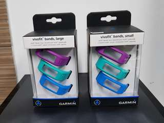 Garmin Vivofit1 box 3 watch straps (free shipping)
