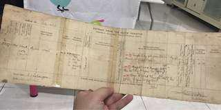 Vintage Document from Land Office 1916