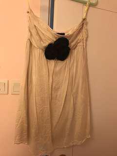 Bardot玫瑰花裙