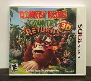 [3DS] Donkey Kong Country Returns 3D - US VERSION (美版)