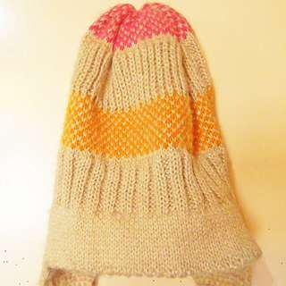 Pastel colors beanie from Baguio