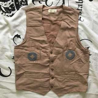 P100 SALE❣️Old Rose Knitted Vest