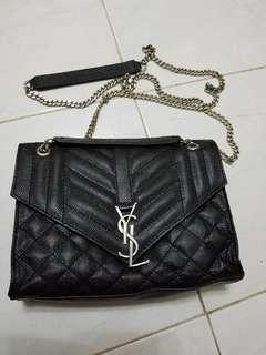 YSL Chain Bag black