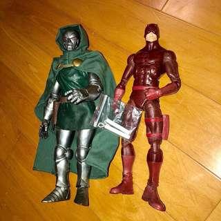 ICON 12吋 Marvel Legends 末日博士 Dr.Doom Fantastic Four 夜魔俠 1/6 1比6 12吋 X-MEN