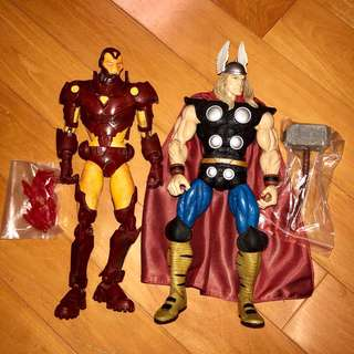 ICON 12吋 Marvel Legends 鋼鐵奇俠 IRON MAN 雷神奇俠 Thor 1/6 1比6 Avengers 復仇者聯盟 共兩款