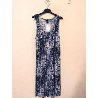 🚚 H&M 全新品 浪漫歐美風 印花洋裝 超級好穿的 質感非常讚讚讚 大推薦