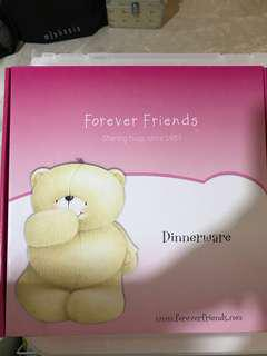 Forever friends food tray