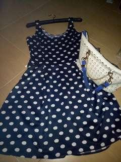 Korean dress polka