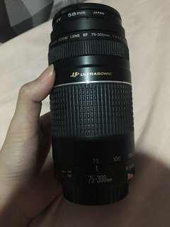 Lensa Canon ultrasonic 75-300 mm (75 300)