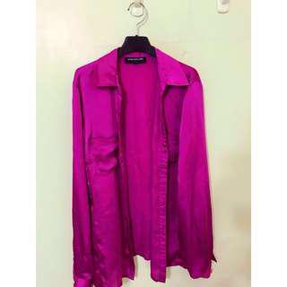 🚚 紐約帶回 原價3280 超美的 桃紅色 穿起來非常顯皮膚白皙 氣色好