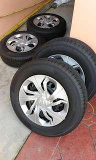 Yokohama almost new tyre