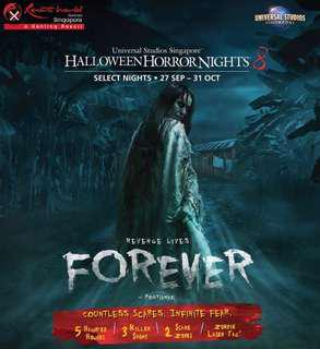 Halloween Horror Nights Dated Eticket