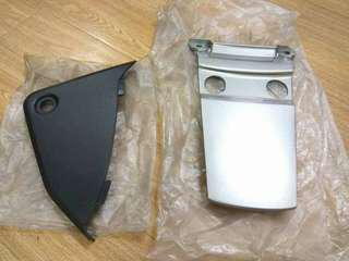 COVER BATERI DAN COVER BLKG BARU ORI YAMAHA RXZ CATALYZER GREY