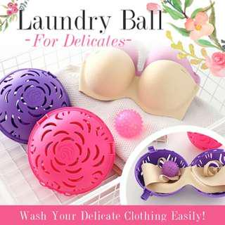 🚚 Laundry Ball for Panty/ Underwear/ socks/ washing Tools . compatible with most of the bras.