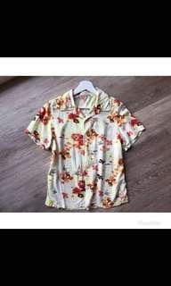 🚚 日貨 渡假風短衫