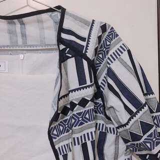 降價90🌙圖騰外套 罩衫