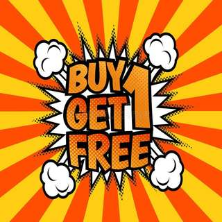 BUY 1 FREE 1 from RM15 Onwards