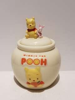 Winnie the pooh 陶瓷罌