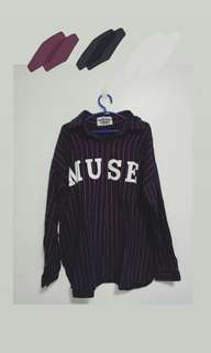 """MUSE"" Long Sleeve Polo"