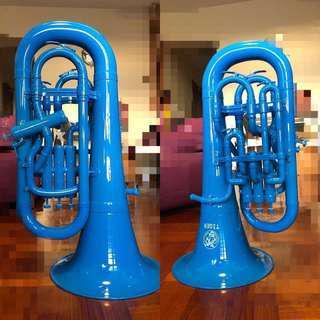 Tiger Euphonium, Blue 上低音號, 藍色