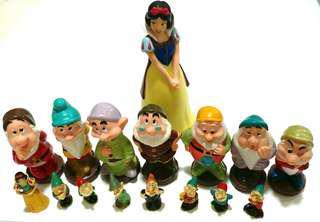 Further Reduced Price!! Snow white & 7 Dwarfs