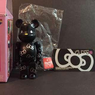 Medicom Toy Series 9 Cute Secret Black Hello Kitty Bearbrick