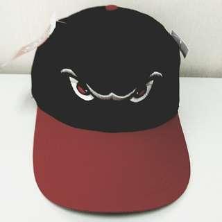 "MiLB 棒球帽   MiLB Minor League ADULT LAKE ELSINORE STORM Black/Red Hat Cap OC Sports Adjustable Velcro TWILL ""Padres Affiliate"" Baseball Cap / Snapback"