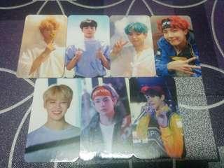 [READY STOCKS] BTS Memories of 2017 Duplicate Photocards