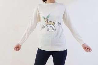 Deer Knit Sweater